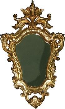 Зеркало 36x22 золото - фото 4568
