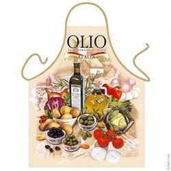 Фартук  Масло и оливки - фото 4623