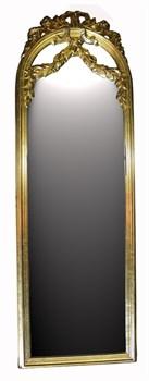 Зеркало 155x52x5 золото  - фото 4682