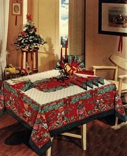 скатерть Новогодняя Орсо - фото 4804