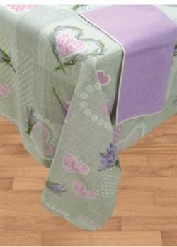 Скатерть с салфетками Лаванда - фото 4891