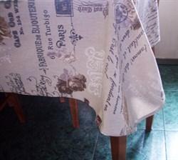 Скатерть  с письмом  - фото 5027