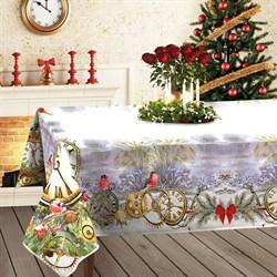 скатерть Новогодние Часы - фото 5084