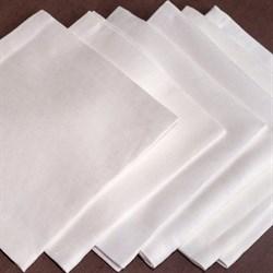 Салфетки белый Лен - фото 5347