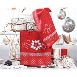 Набор новогодних полотенец Аличе - фото 5368