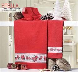 Набор новогодних полотенец Стелла - фото 5379
