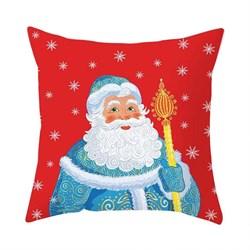 Новогодняя НАВОЛОЧКА Дед Мороз - фото 5429