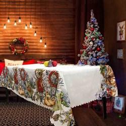 скатерть Новогодняя Кристмас I - фото 5445
