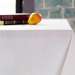 Скатерть белая Лен - фото 5492