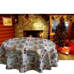скатерть Новогодняя Буканеве с пропиткой - фото 5494