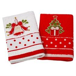 Набор новогодних полотенец Инфинити dis.5 - фото 5633