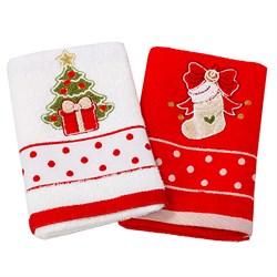 Набор новогодних полотенец Инфинити dis.4 - фото 5635