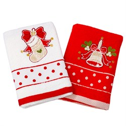 Набор новогодних полотенец Инфинити dis.6 - фото 5637
