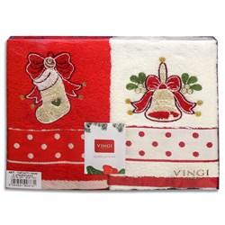 Набор новогодних полотенец Инфинити dis.3 - фото 5659