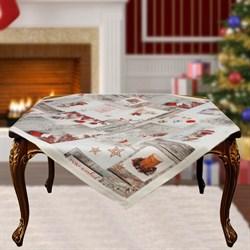 Скатерть на квадратный стол с люрексом  Шарон dis.9 - фото 5704