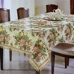 Скатерть гобеленовая АВРОРА  мал.цветок - фото 5733