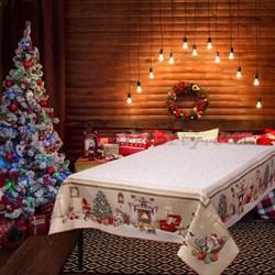 Скатерть новогодняя гобеленовая с люрексом Стелла - фото 5793