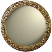 Зеркало диаметр 101 золото