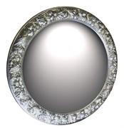 Зеркало диаметр 101 серебро