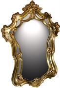 Зеркало 102x71x5 золото