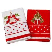 Набор новогодних полотенец Инфинити dis.5