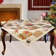 Скатерть на квадратный стол с люрексом  Шарон dis.3