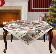 Скатерть на квадратный стол с люрексом  Шарон dis.4