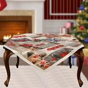 Скатерть на квадратный стол с люрексом Шарон dis.12
