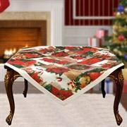 Скатерть на квадратный стол с люрексом  Шарон dis.2