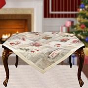 Скатерть на квадратный стол с люрексом  Шарон dis.5